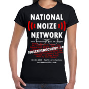 National Noize Network - ladies tapered fit