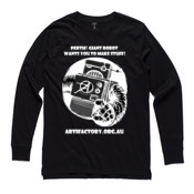 Giant Robot - longsleeve on a dark colours