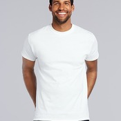 Men's Gildan Heavy Cotton White T Shirt