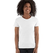 Women's Gildan Heavy Cotton White T Shirt