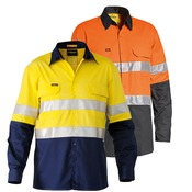 Womens Bisley 3M Taped Hi Vis Shirt