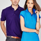 Mens Biz Collection Pique Knit Polo